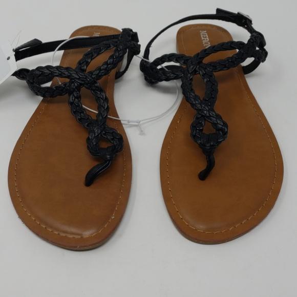 2a68c1265b0d Women s Jana Quarter Strap Sandals - Merona Black